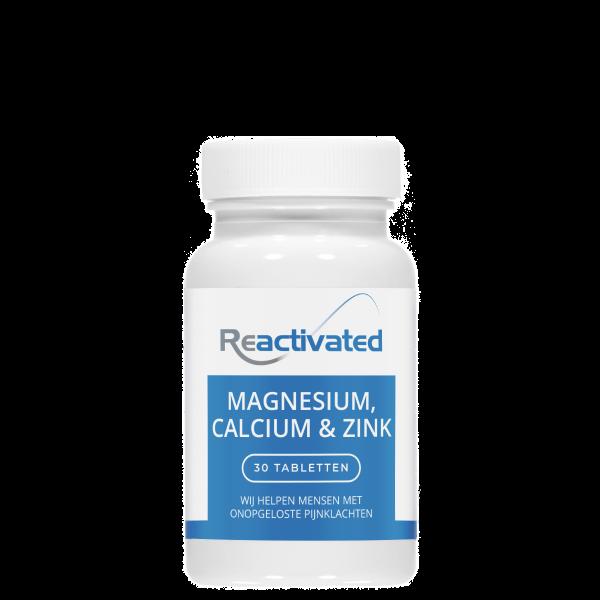 Magnesium, Calcium & Zink